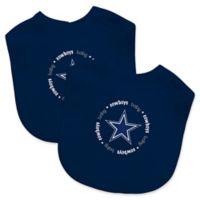 Baby Fanatic® NFL Dallas Cowboys 2-Pack Bibs