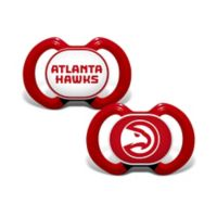 Baby Fanatic® NBA Atlanta Hawks 2-Pack Pacifiers