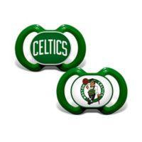Baby Fanatic® NBA Boston Celtics 2-Pack Pacifiers