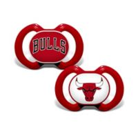 Baby Fanatic® NBA Chicago Bulls 2-Pack Pacifiers