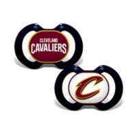 Baby Fanatic® NBA Cleveland Cavaliers 2-Pack Pacifiers