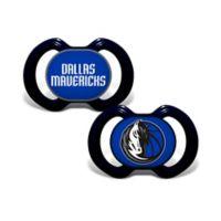 Baby Fanatic® NBA Dallas Mavericks 2-Pack Pacifiers