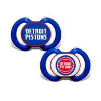 Baby Fanatic® NBA Detroit Pistons 2-Pack Pacifiers