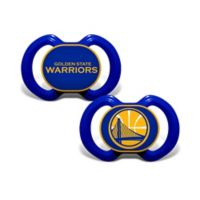 Baby Fanatic® NBA Golden State 2-Pack Pacifiers