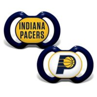 Baby Fanatic® NBA Indiana Pacers 2-Pack Pacifiers
