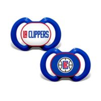 Baby Fanatic® NBA Los Angeles Clippers 2-Pack Pacifiers