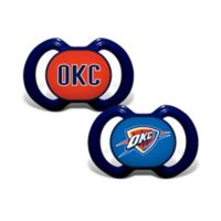 Baby Fanatic® NBA Oklahoma City Thunder 2-Pack Pacifiers
