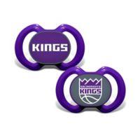 Baby Fanatic® NBA Sacramento Kings 2-Pack Pacifiers