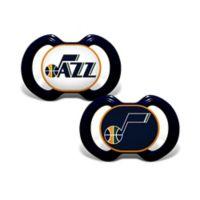 Baby Fanatic® NBA Utah Jazz 2-Pack Pacifiers
