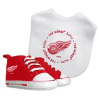 Baby Fanatic NHL Detroit Red Wings 2-Piece Gift Set