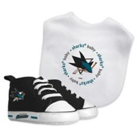 Baby Fanatic NHL San Jose Sharks 2-Piece Gift Set