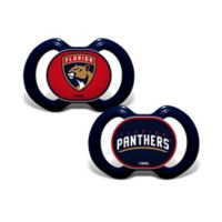Baby Fanatic® NHL Florida Panthers 2-Pack Pacifiers