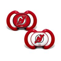 Baby Fanatic® NHL New Jersey Devils 2-Pack Pacifiers