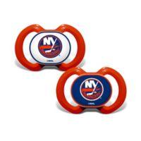 Baby Fanatic® NHL New York Islanders 2-Pack Pacifiers