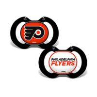 Baby Fanatic® NHL Philadelphia Flyers 2-Pack Pacifiers