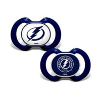 Baby Fanatic® NHL Tampa Bay Lightning 2-Pack Pacifiers