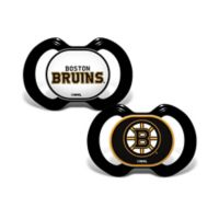 Baby Fanatic® NHL Boston Bruins 2-Pack Pacifiers
