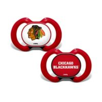 Baby Fanatic® NHL Chicago Blackhawks 2-Pack Pacifiers