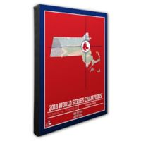 MLB Boston Red Sox Sports Alternate Wrapped Canvas Wall Art