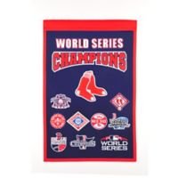 MLB Boston Red Sox 2018 World Series Banner in Navy