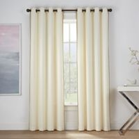 Montgomery 108-Inch Grommet Window Curtain Panel in Ivory