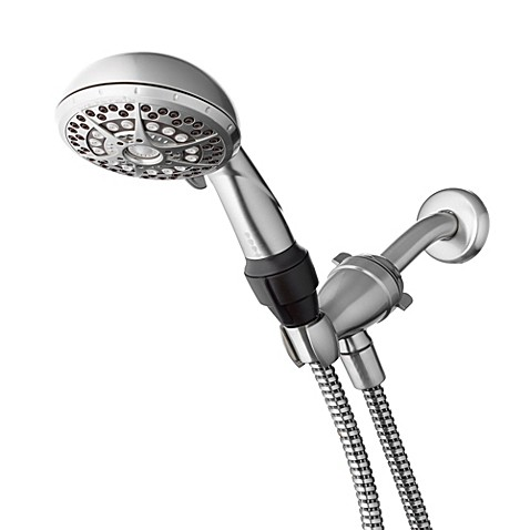 WaterpikR EliteTM Riata 14 Mode Handheld Showerhead In Brushed Nickel