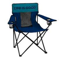 Life is Good® Elite Beach Chair in Navy