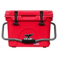ORCA 20 Qt. Standing Cooler in Red