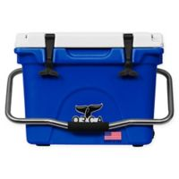 ORCA 20 Qt. Standing Cooler in Blue/White