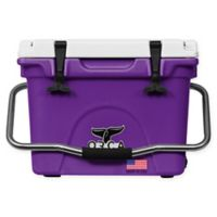 ORCA 20 Qt. Standing Cooler in Purple/White
