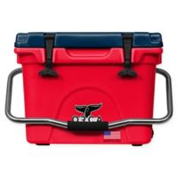 ORCA 20 Qt. Standing Cooler in Red/Blue
