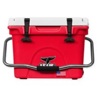 ORCA 20 Qt. Standing Cooler in Red/White