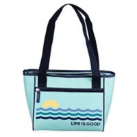 Life is Good® 16-Can Cooler Tote in Blue