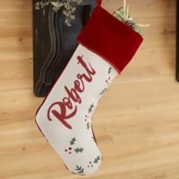 Cozy Christmas Personalized Christmas Stocking