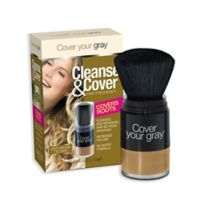 Cover Your Gray® .42 oz. Cleanse and Cover Hair Refresher in Light Brown