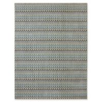Karastan Pacifica Seabridge 9-Foot 6-Inch x 12-Foot 11-Inch Area Rug in Beige