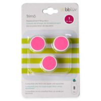 bbluv® 3-Pack Trimö Baby Electric Nail Trimmer Stage 1 Replacement Filing Discs