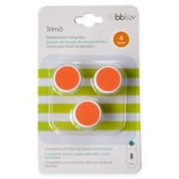 bblüv® 3-Pack Trimö Baby Electric Nail Trimmer Stage 4 Replacement Filing Discs