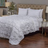 Rizzy Home Dreamweaver King Quilt Set in Light Blue