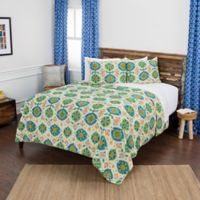 Rizzy Home Maddux Place Franky King Quilt Set in Yellow