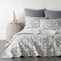 Levtex Home Constantinople Reversible Twin Quilt Set in Grey