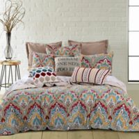 Levtex Home Bragga Reversible Twin Quilt Set in Yellow/Red