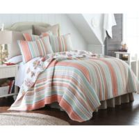 Levtex Home Brighton Reversible King Quilt Set