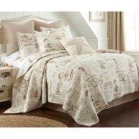 Levtex Home Beach Life King Quilt Set in Taupe/Beige