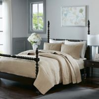 Madison Park Signature Serene King Coverlet Set in Linen