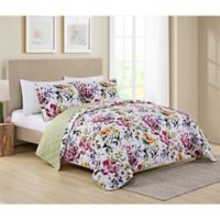 VCNY Home Brooke Reversible King Quilt Set