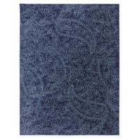 Karastan Pacifica Kingston 9-Foot 6-Inch x 12-Foot 11-Inch Area Rug in Indigo