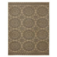 Karastan Pacifica Leawood 9-Foot 6-Inch x 12-Foot 11-inch Area Rug in Tan