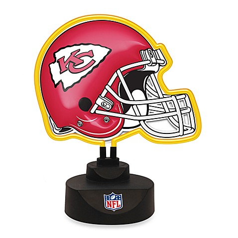 NFL Kansas City Chiefs Neon Helmet Lamp