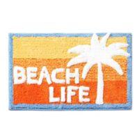 """Paradise Beach 30"""" x 20"""" Bath Rug"""